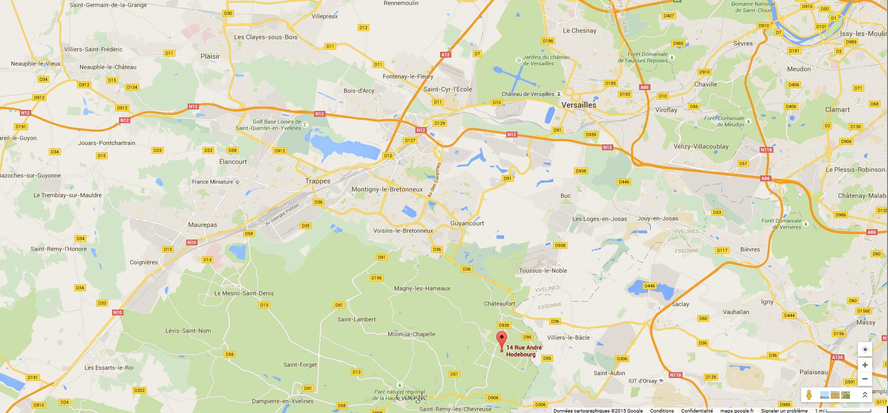carte magny les hameaux